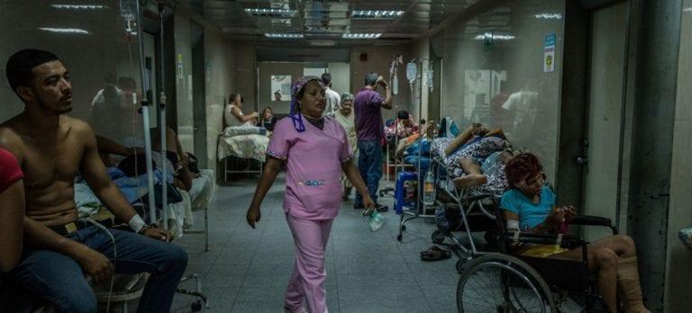 Venezuela celebra un Día Mundial de la Salud en condiciones precarias