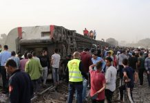 Accidente de tren en Egipto - Accidente de tren en Egipto