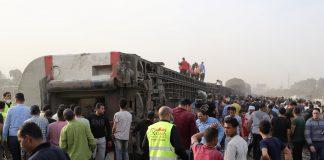 Accidente de tren en Egipto - Accidente de tren en Egipto