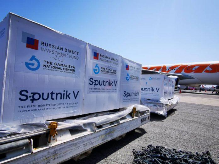 80 mil dosis de la vacuna Sputnik-V