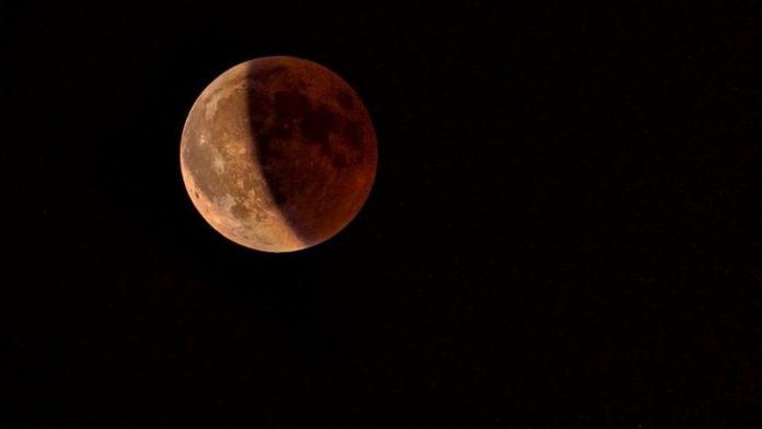 primer eclipse lunar de 2021, luna de sangre, superluna