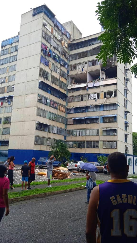 Explosión en un apartamento por fuga de gas