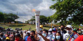 Fuego la Batalla de Carabobo recorrió Naguanagua