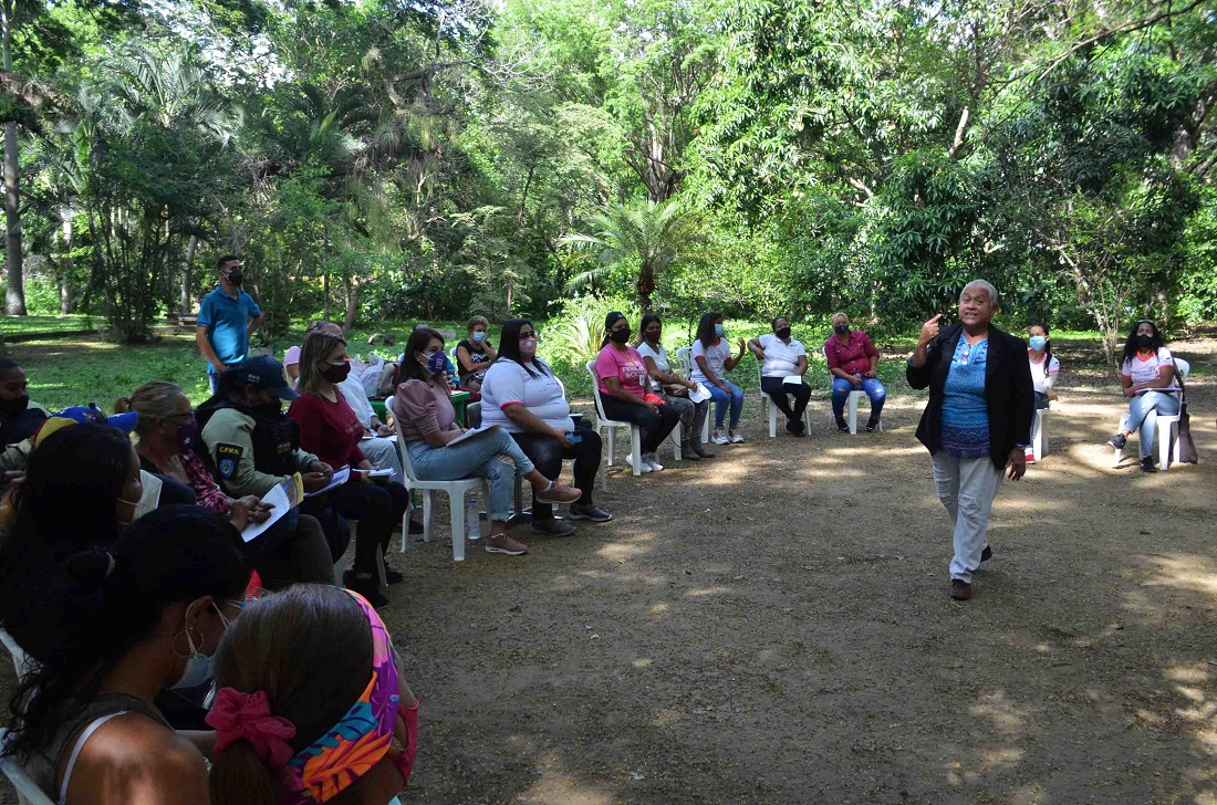 Debaten reforma de Ley del Derecho de la Mujer en Naguanagua - Debaten reforma de Ley del Derecho de la Mujer en Naguanagua