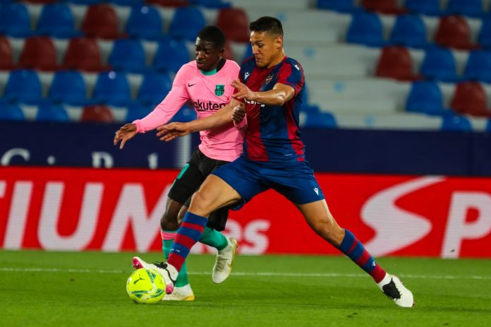 Barcelona cedió un empate con el Levante