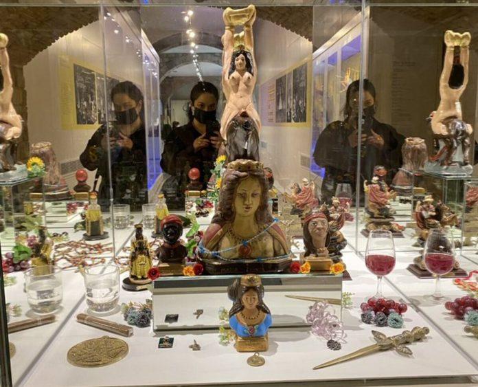 Exhibición de María Lionza - Exhibición de María Lionza
