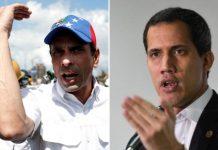 Guaidó y Capriles - Guaidó y Capriles
