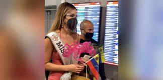 Así recibieron a la Miss Venezuela