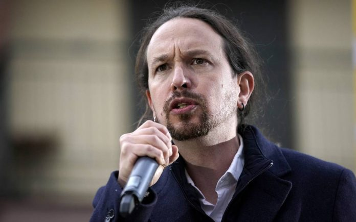 asamblea de madrid Pablo Iglesias anunció que abandona sus cargos