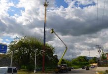 Reactivado 21 torres de iluminación en Naguanagua - Reactivado 21 torres de iluminación en Naguanagua