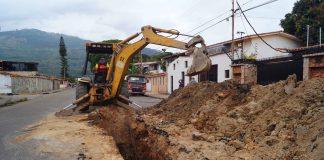 tubería de aguas negras en La Campiña