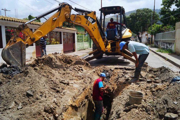 Alcaldía de Naguanagua sustituye tuberías de aguas - Alcaldía de Naguanagua sustituye tuberías de aguas