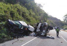 Accidente de tránsito en el Km 32