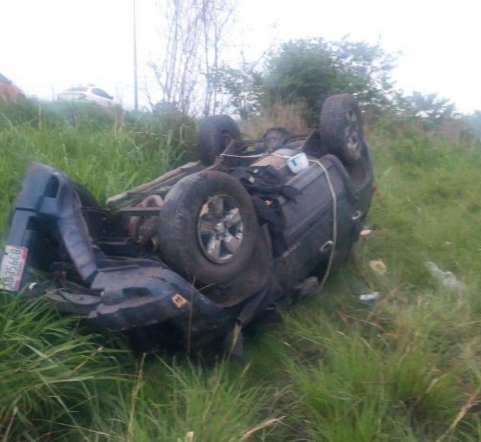 Accidente de tránsito en la Autopisra Regional del Centro - Accidente de tránsito en la Autopisra Regional del Centro