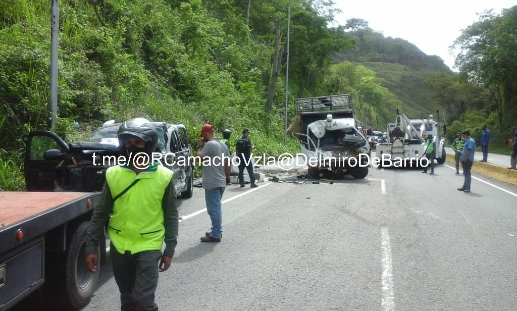 Accidente de tránsito en el Km 32