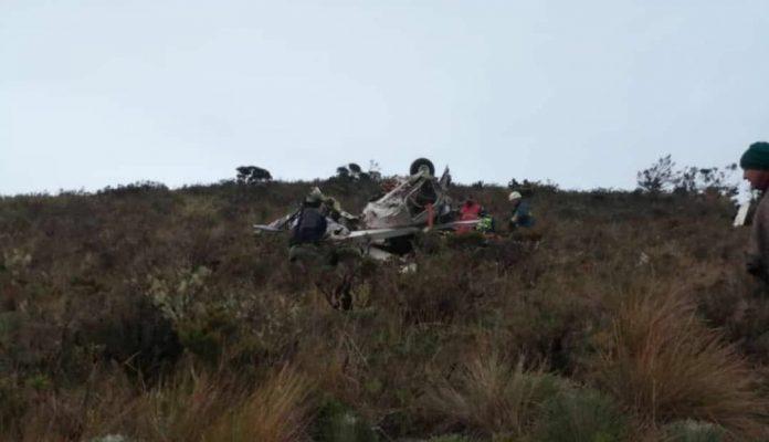 Accidente aéreo en Táchira