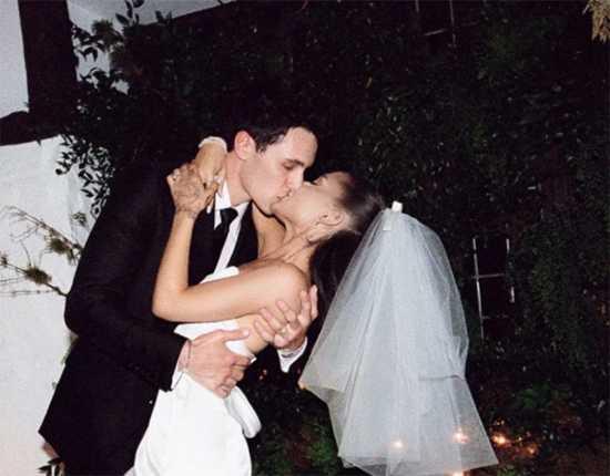 Ariana Grande se casó