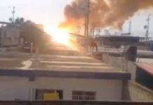 Explosión en subestación eléctrica Federación de Ciudad Ojeda - Explosión en subestación eléctrica Federación de Ciudad Ojeda