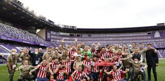 Atléticode Madrid campeón de LaLiga