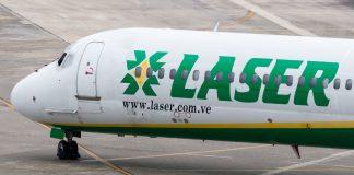Se incendió el motor de un avión Laser cuando aterrizaba en Maiquetía