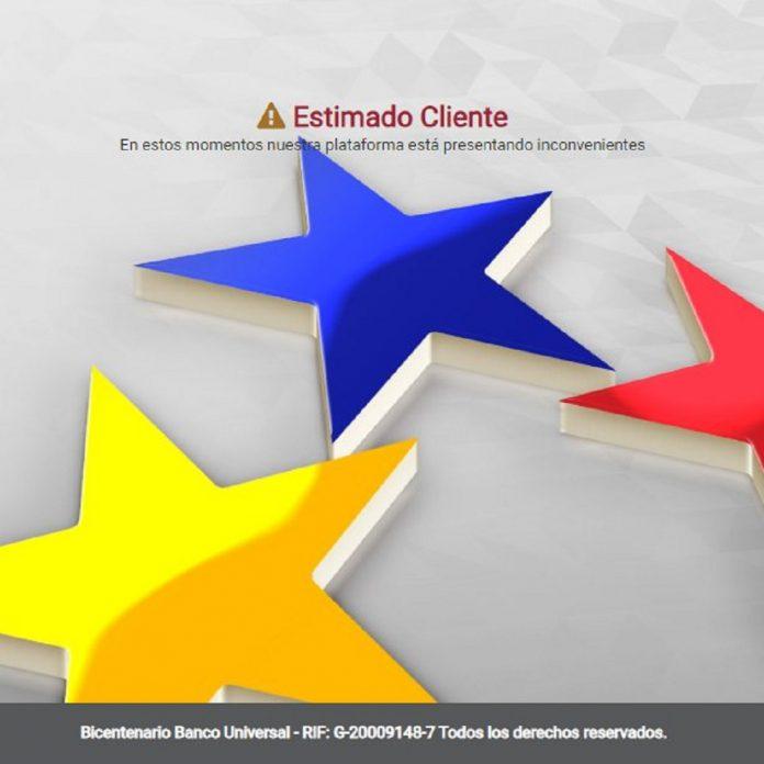 Banco Bicentenario tiene cuatro días caído - Banco Bicentenario tiene cuatro días caído