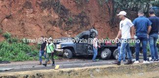 Accidente de tránsito en la ARC