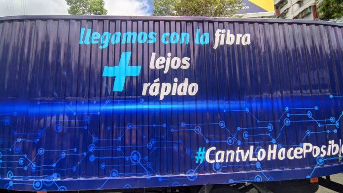 Fibra óptica de CANTV - Fibra óptica de CANTV