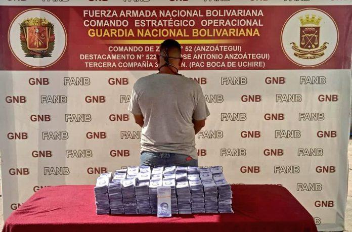GNB incautó casi 14 millardos de bolívares