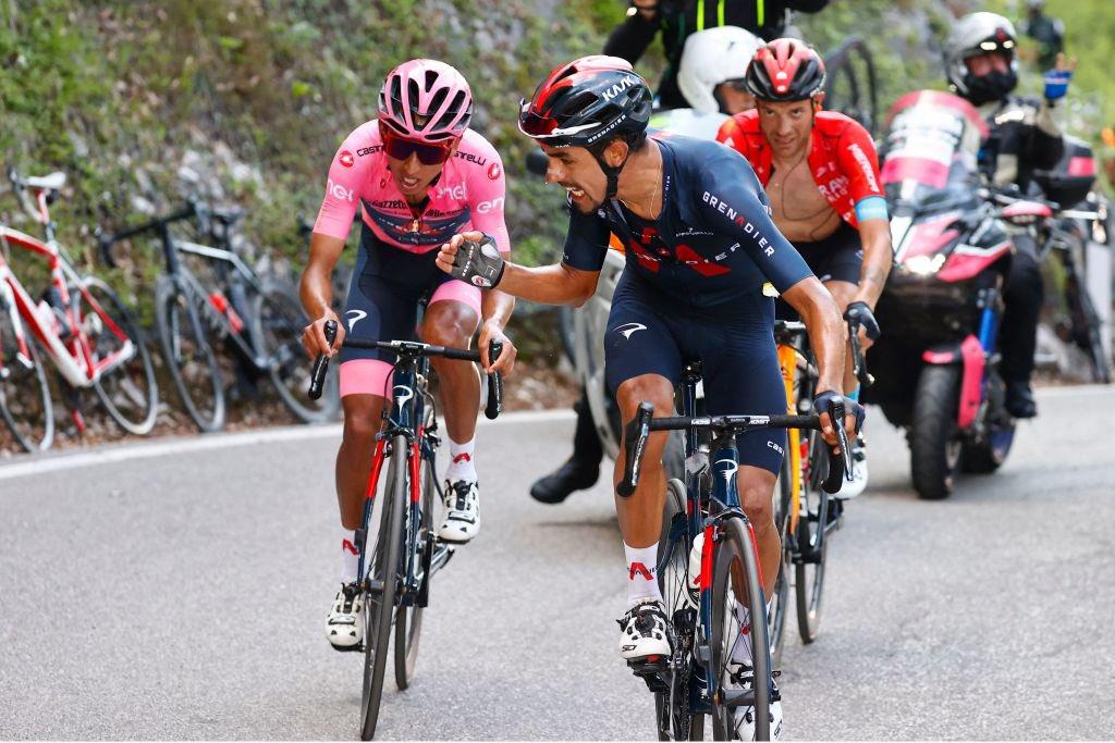 ciclista colombiano Egan Bernal gana - ciclista colombiano Egan Bernal gana