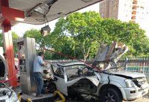 explosión de estación de servicio Las Ferias - explosión de estación de servicio Las Ferias