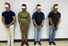 Cuatro GNB detenidos - Cuatro GNB detenidos