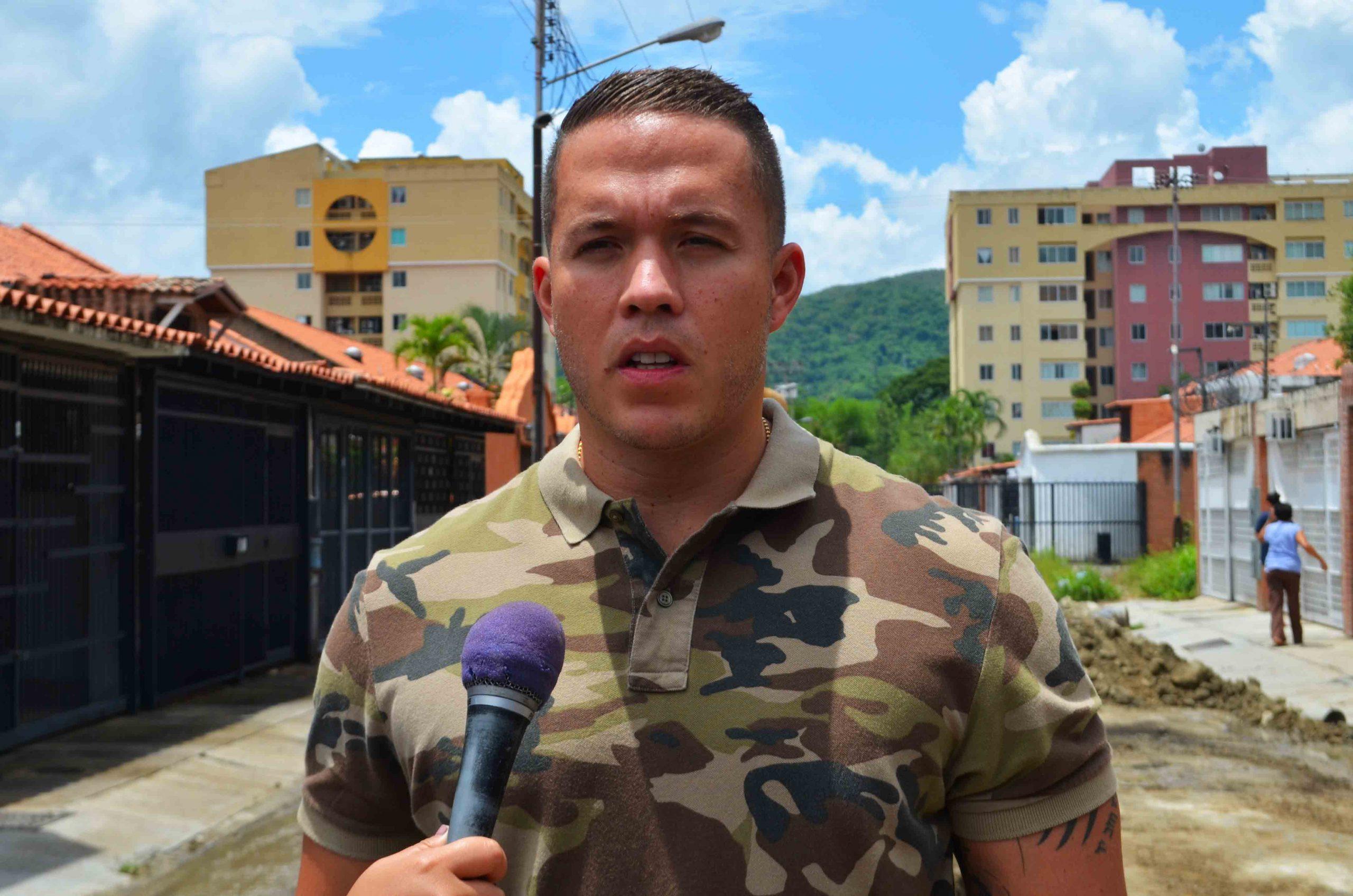 alcalde Gutiérrez inspeccionó sustitución de tubería