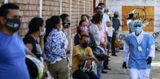 Venezuela registró 832 nuevos casos de Covid-19