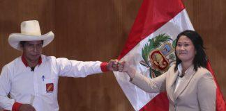Pedro Castillo y Keiko Fujimori - Pedro Castillo y Keiko Fujimori