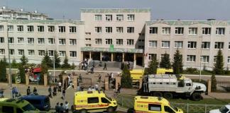 Tiroteo en una escuela en Rusia