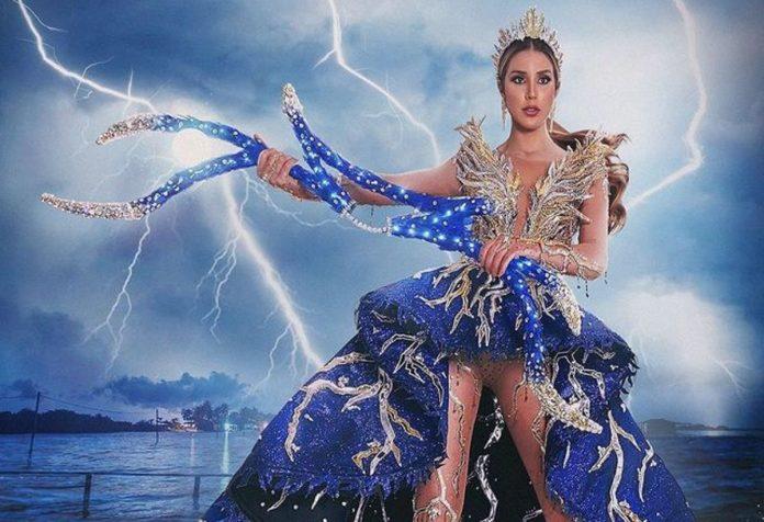 Traje típico de Miss Venezuela