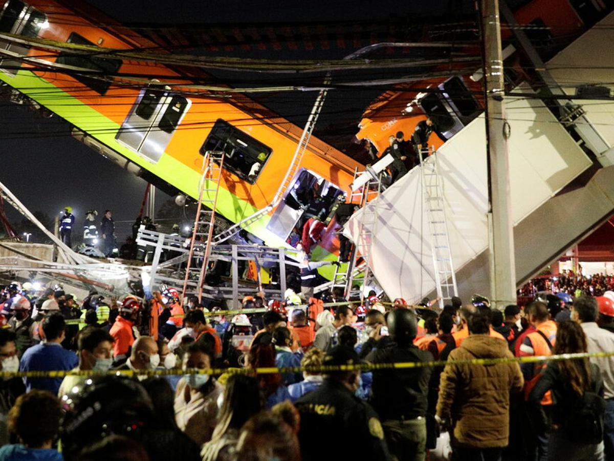 Colapsa metro en Ciudad de México - Colapsa metro en Ciudad de México