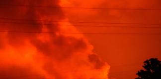 Volcán Nyiragongo entró en erupción
