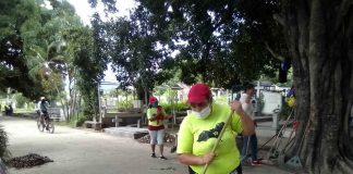 """Jornada de limpieza en Cementerio Municipal """"La Linda"""" - Jornada de limpieza en Cementerio Municipal """"La Linda"""""""