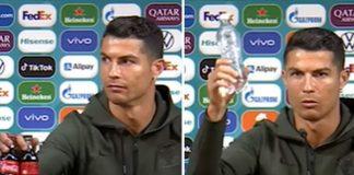 Cristiano Ronaldo y la Coca Cola - Cristiano Ronaldo y la Coca Cola