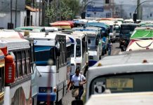 Transporte público urbano propuso fijar tarifa en 25 centavos de dólar
