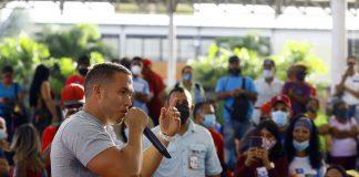 Gutiérrez exhortó a la militancia del Psuv a participar