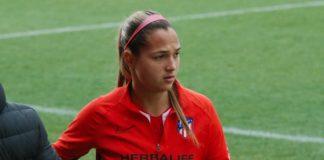 Deyna Castellanos marcó su 13° gol de la temporada atlético de madrid