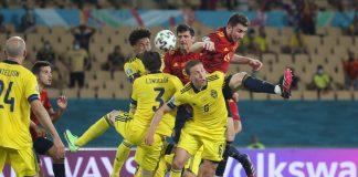 España tropezó en su debut frente a Suecia eurocopa 2021