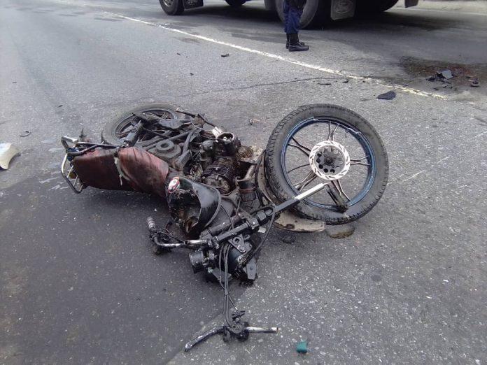 Accidente de tránsito en El Naipe - Accidente de tránsito en El Naipe
