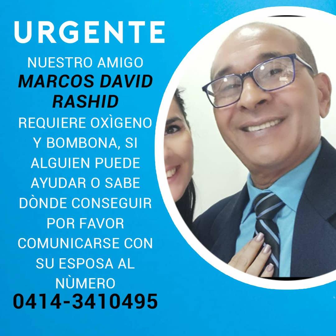 Marcos David Rashid - Marcos David Rashid