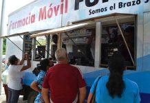 Familias naguanagüenses se han beneficiado en las Farmacias móviles