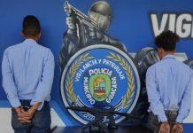 Detenidos dos individuos de la banda El Orejón en Guacara