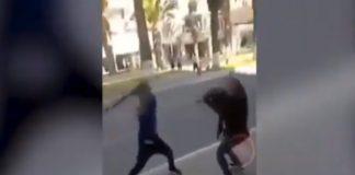 Pelea de dos venezolanos en Tacna - Pelea de dos venezolanos en Tacna