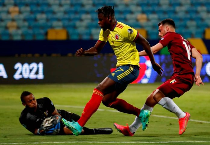 Wuilker Fariñez Venezuela consiguió su primer punto en la presente Copa América